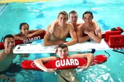 Teen group interracial